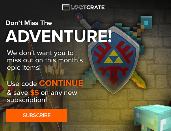 Discount coupons loot crate