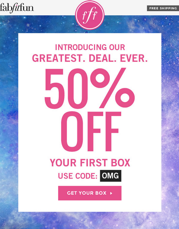 Best FabFitFun Deal Ever – 50  Your First Box    My Subscription Addiction