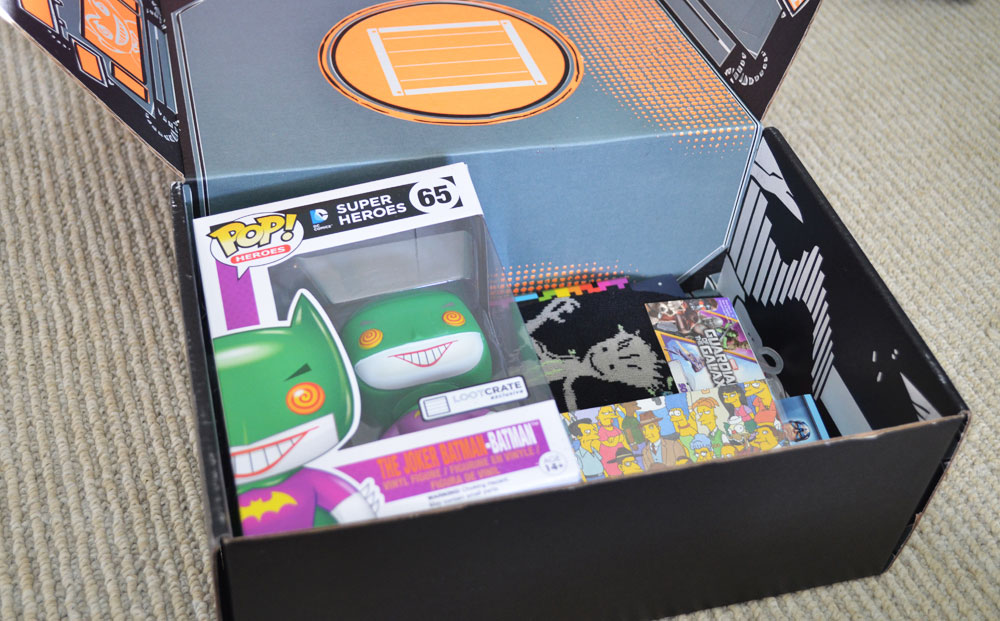 December 2014 Loot Crate Review Boxesfordays